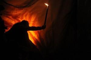Spectacle autour de la grotte Chauvet