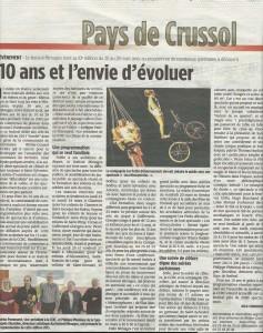 Présentation du festival Mimages 2015 dans l'Hebdo de l'Ardèche