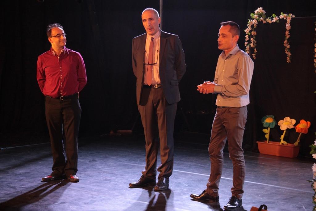 festival Mimages 10ème édition, soirée d'ouverture à Toulaud, présentation officielle