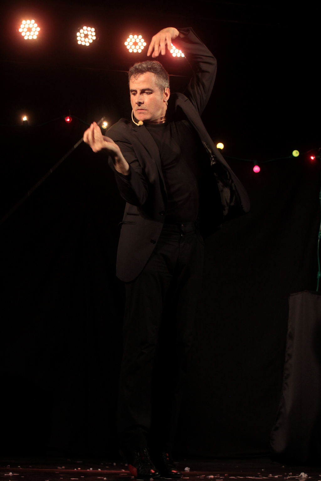 Festival Mimages , Mimages fait son cirque à Saint-Sylvestre, en Ardèche, Pierre Fatus et Philippe Escudié