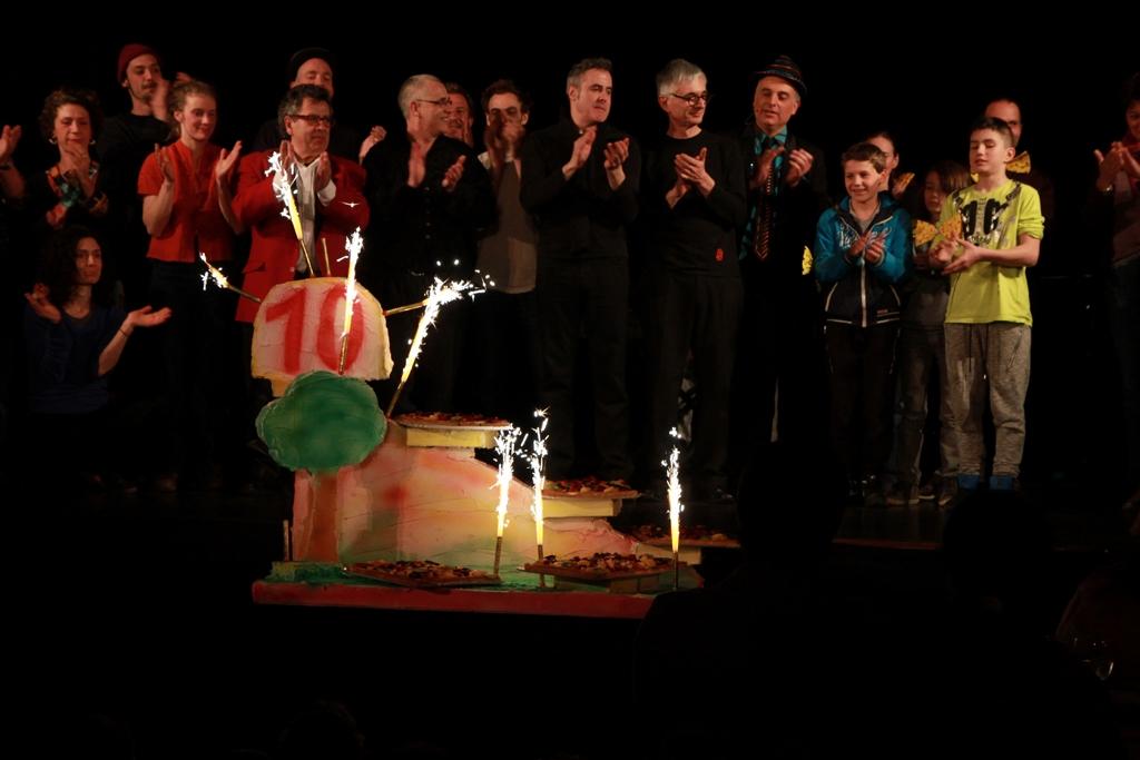 Festival Mimages , Mimages fait son cirque à Saint-Sylvestre, en Ardèche , anniversaire
