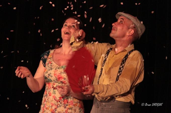 Soirée d'ouverture du festival Mimages 2017 dans la sale de l'Oustaou à Charmes-sur-Rhône