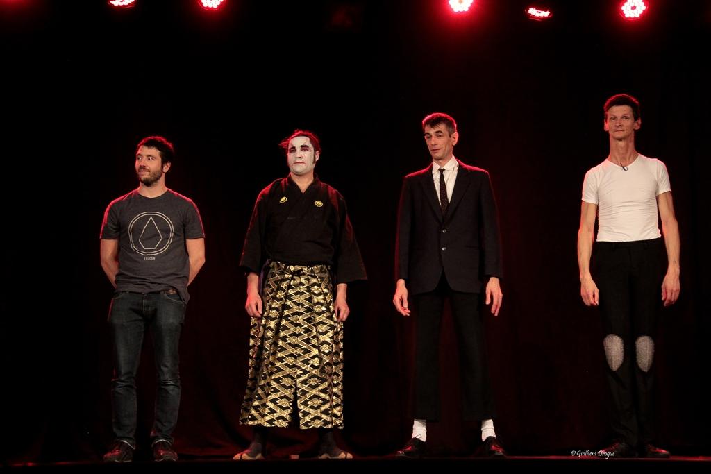 soirée Mimages fait son cirque à Saint-Sylvestre en Ardèche, festival du geste et du Mime, 2018