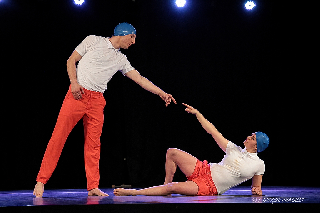 soirée Mimages fait son cirque à Saint-Sylvestre en Ardèche, festival du geste et du Mime, 2018, compagnie Non de non