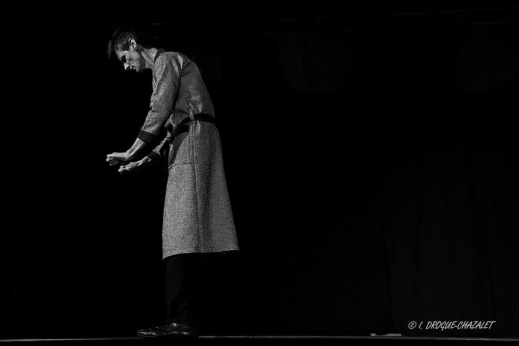 soirée Mimages fait son cirque à Saint-Sylvestre en Ardèche, festival du geste et du Mime, 2018, Patrick Cottet-Moine