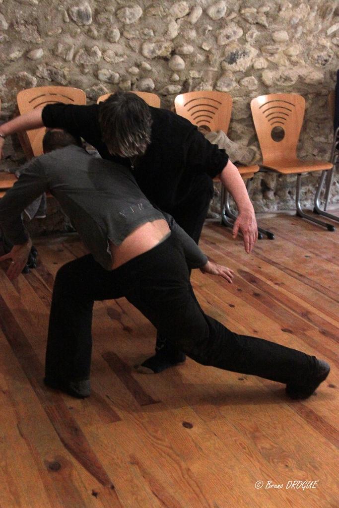 Stage de formation autour du geste et du mouvement animé par Yves Marc
