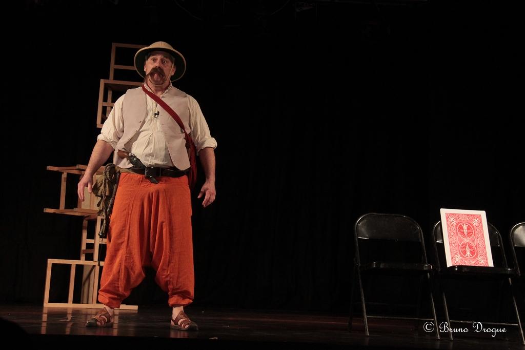 Festival Mimages 14e édition, Mimages fait son cirque, soirée cabaret, discours et présentation par Thierry Nadalini