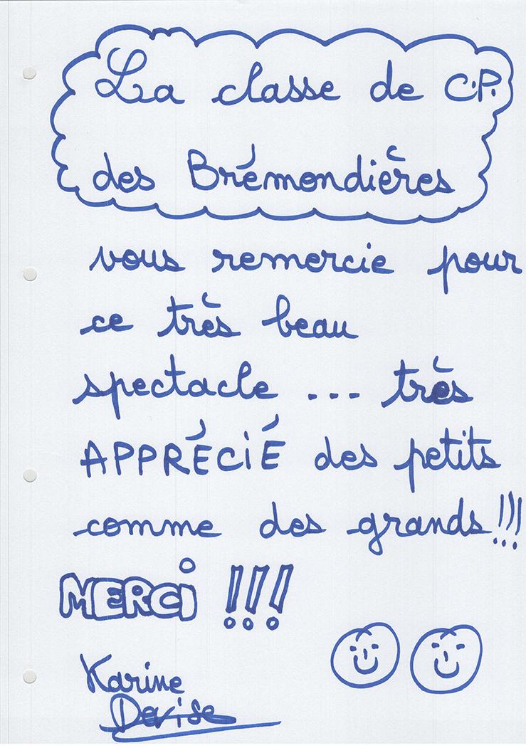 Dessins de la classe de CP des Brémondières à Saint-Péray