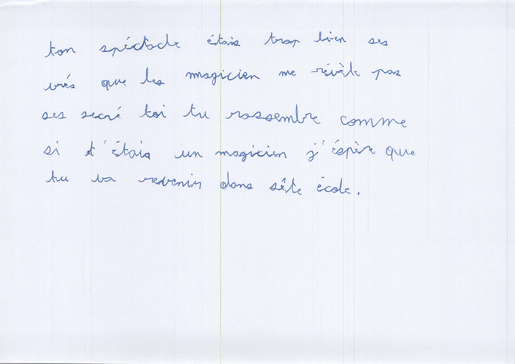 Dessins de l'école du Vivarais, Guilherand-Granges, CE2, Mimages 2021