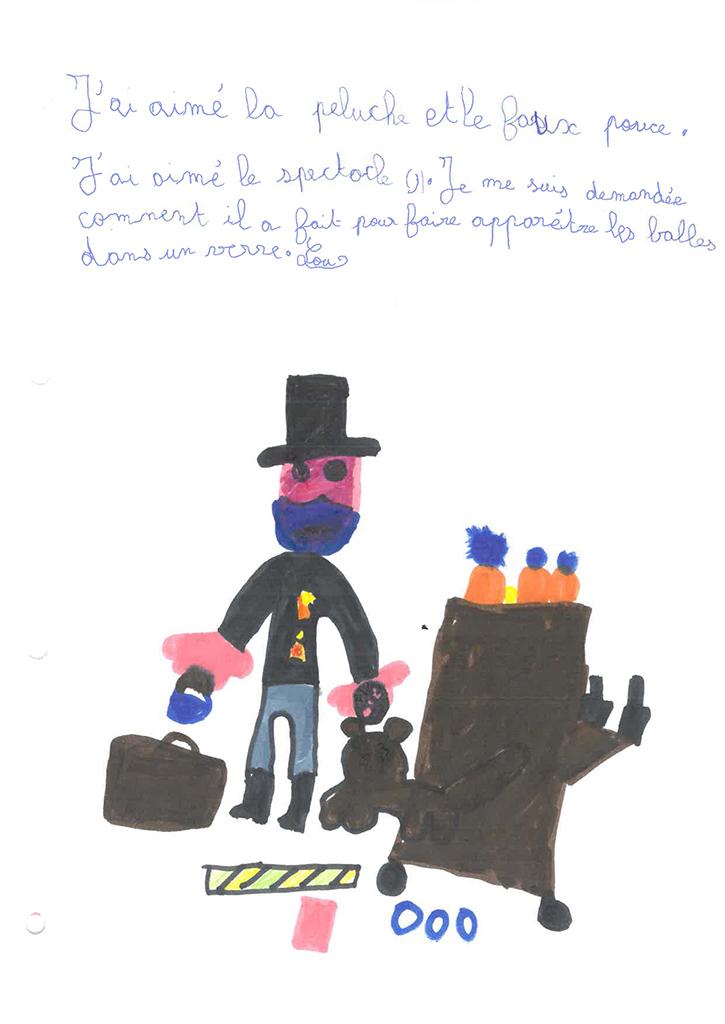 Dessins de ma classe de CE2 de l'école des brémondières de Saint-Péray, Mimages 2021